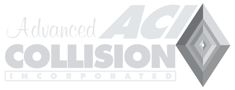 Advanced Collision Light Gray Logo